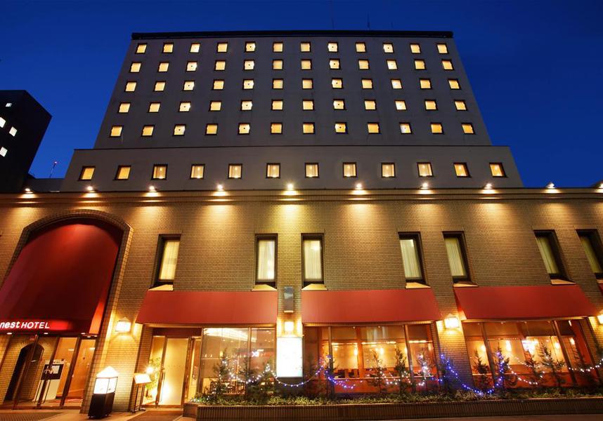 JR札幌駅からわずか500m、マッサージサービス、伝統料理を楽しめる和食レストランを提供しています。