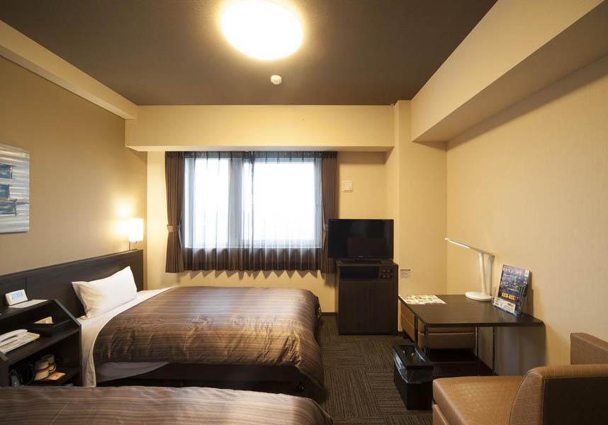 モダンな客室には、エアコン、空気清浄機/加湿器、薄型テレビ、冷蔵庫、バスアメニティ、ナイトウェアが備わっています。